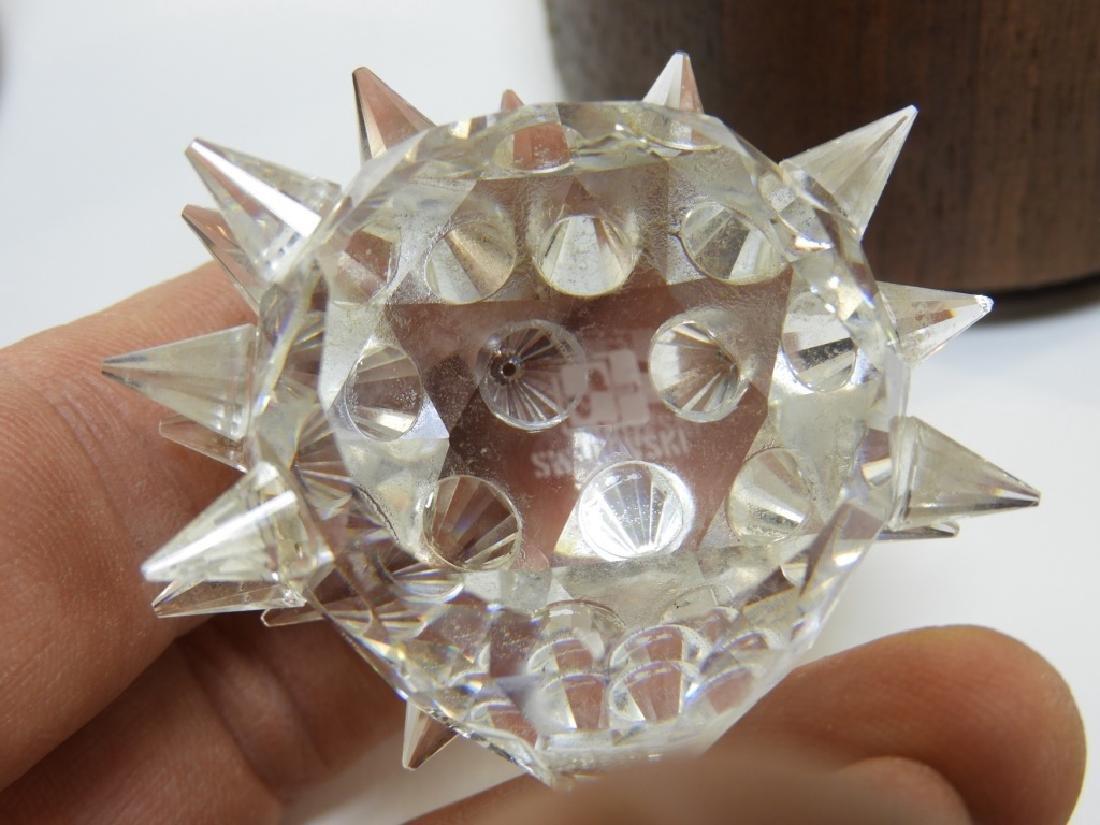 Group 6 Austrian Swarovski Crystal Figures - 6