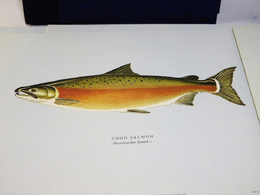 Ernest Schwiebert Salmon of the World Book Plates - 3
