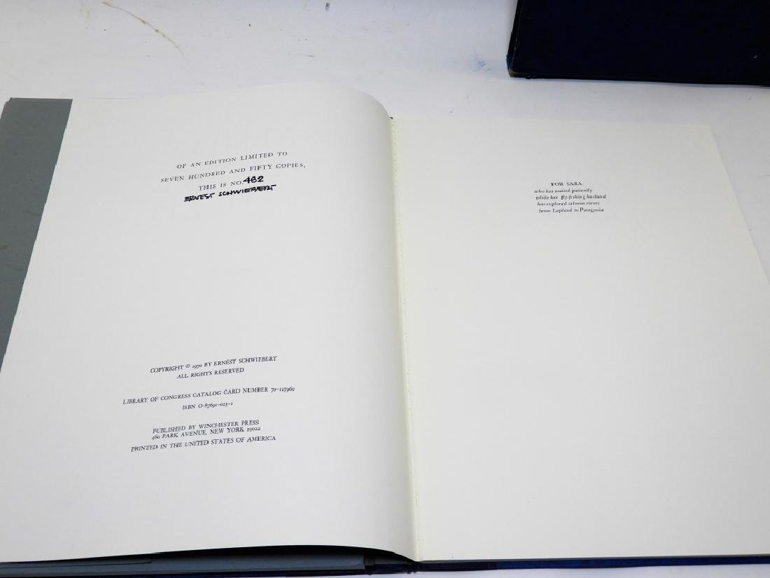Ernest Schwiebert Salmon of the World Book Plates - 5