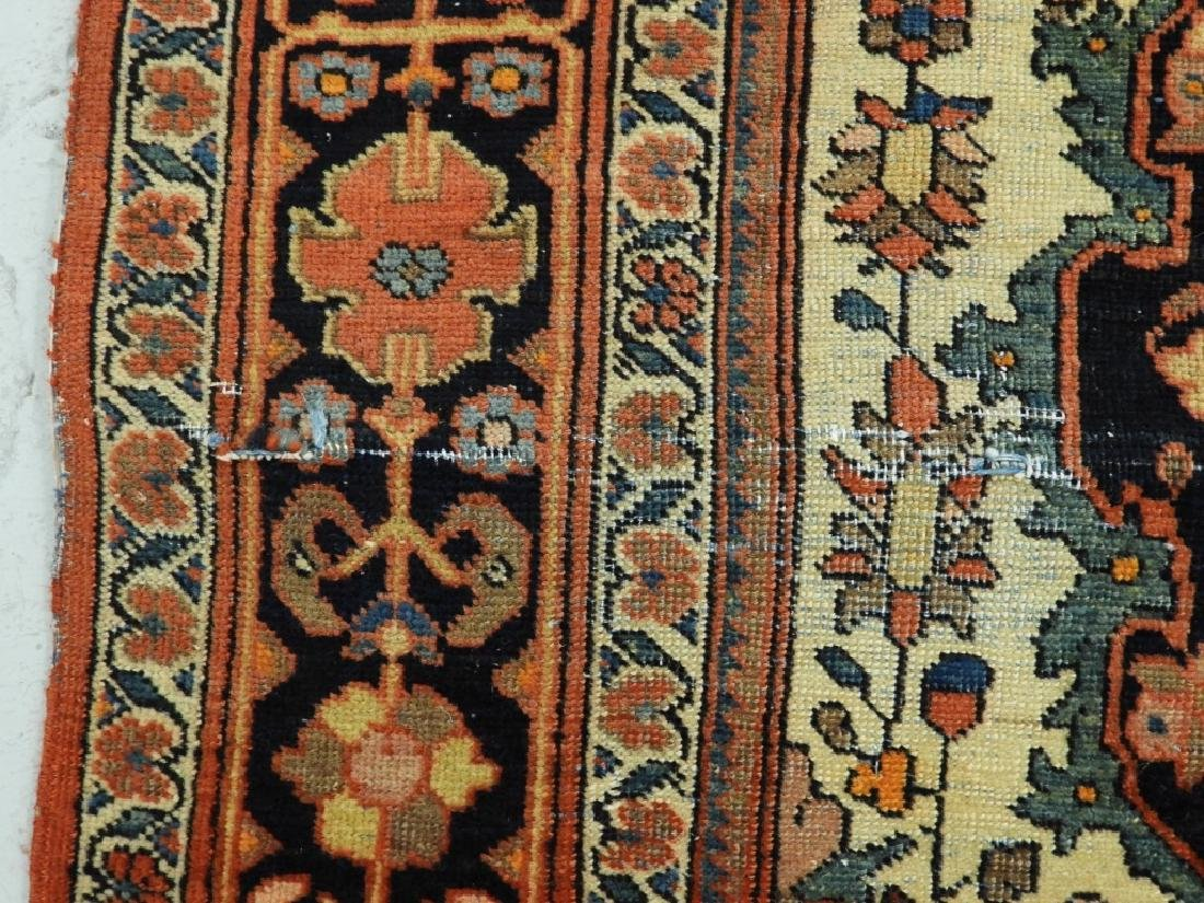 Antique Persian Fereghan Sarouk Carpet Rug - 3