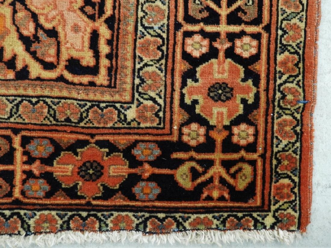 Antique Persian Fereghan Sarouk Carpet Rug - 4