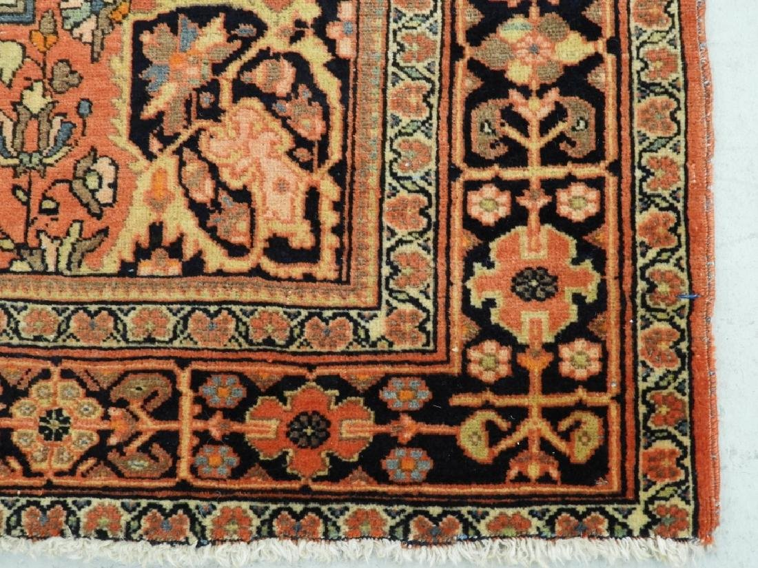 Antique Persian Fereghan Sarouk Carpet Rug - 5
