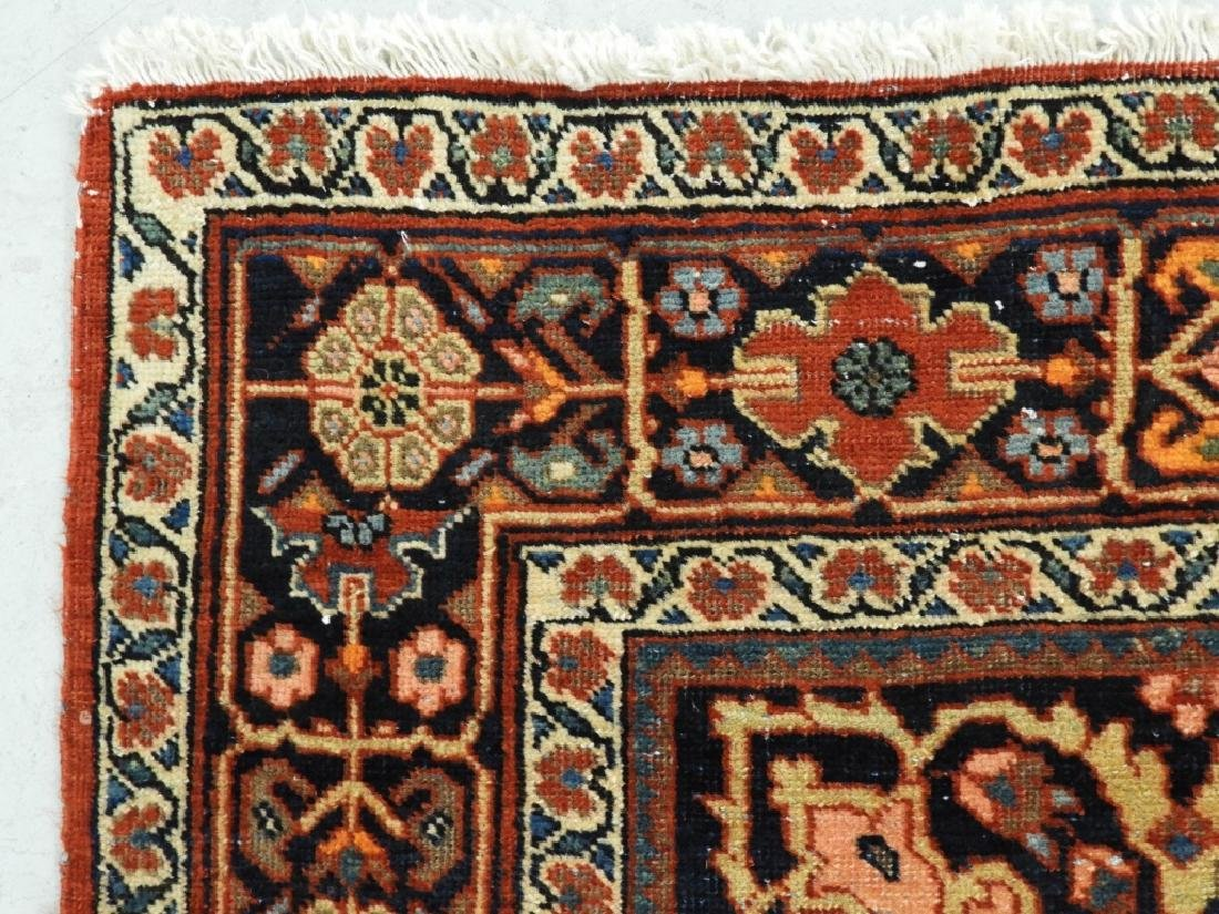 Antique Persian Fereghan Sarouk Carpet Rug - 7