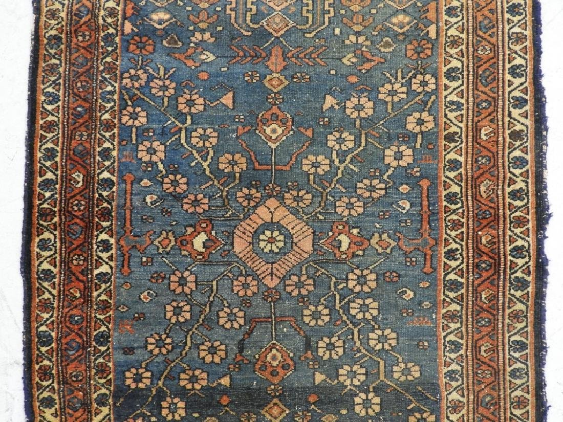 Antique Persian Oriental Wool Carpet Rug - 2