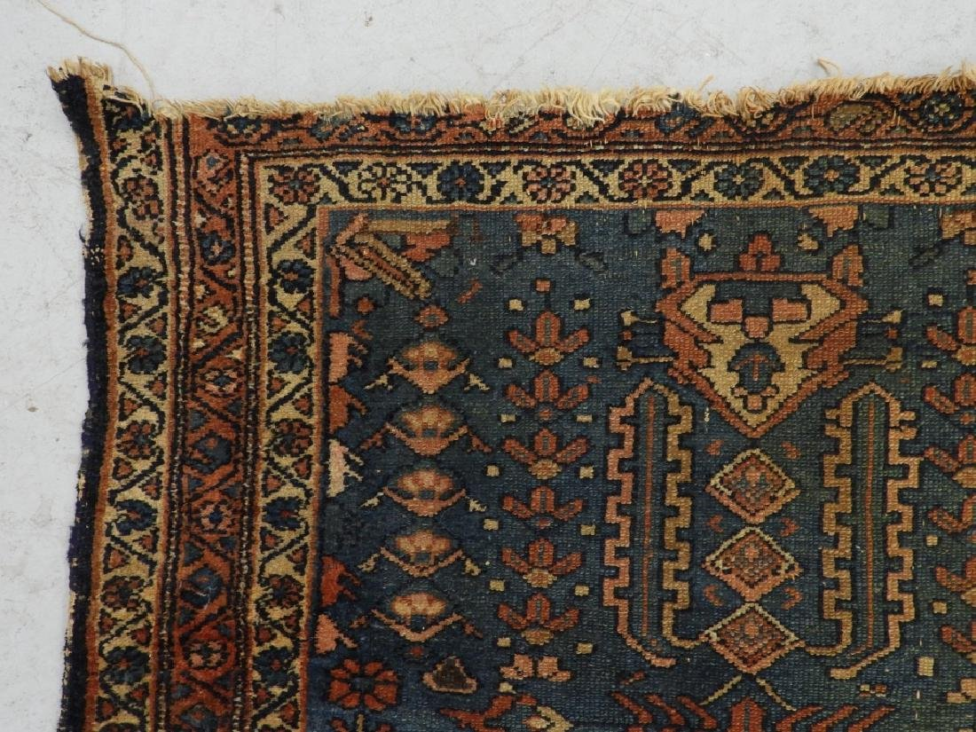 Antique Persian Oriental Wool Carpet Rug - 3