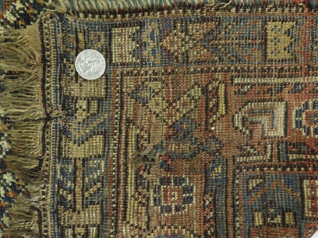 Antique Persian Afghan Wool Carpet Rug - 10