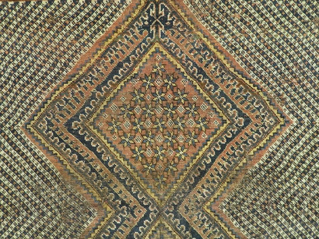 Antique Persian Afghan Wool Carpet Rug - 3