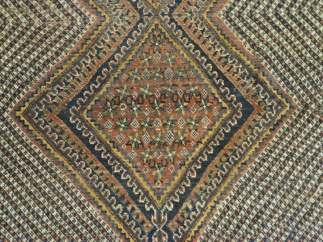 Antique Persian Afghan Wool Carpet Rug - 4