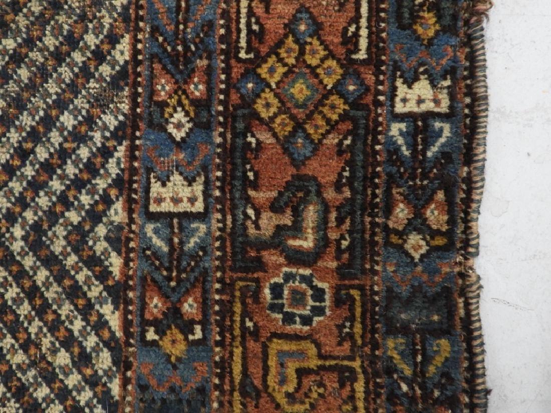 Antique Persian Afghan Wool Carpet Rug - 6