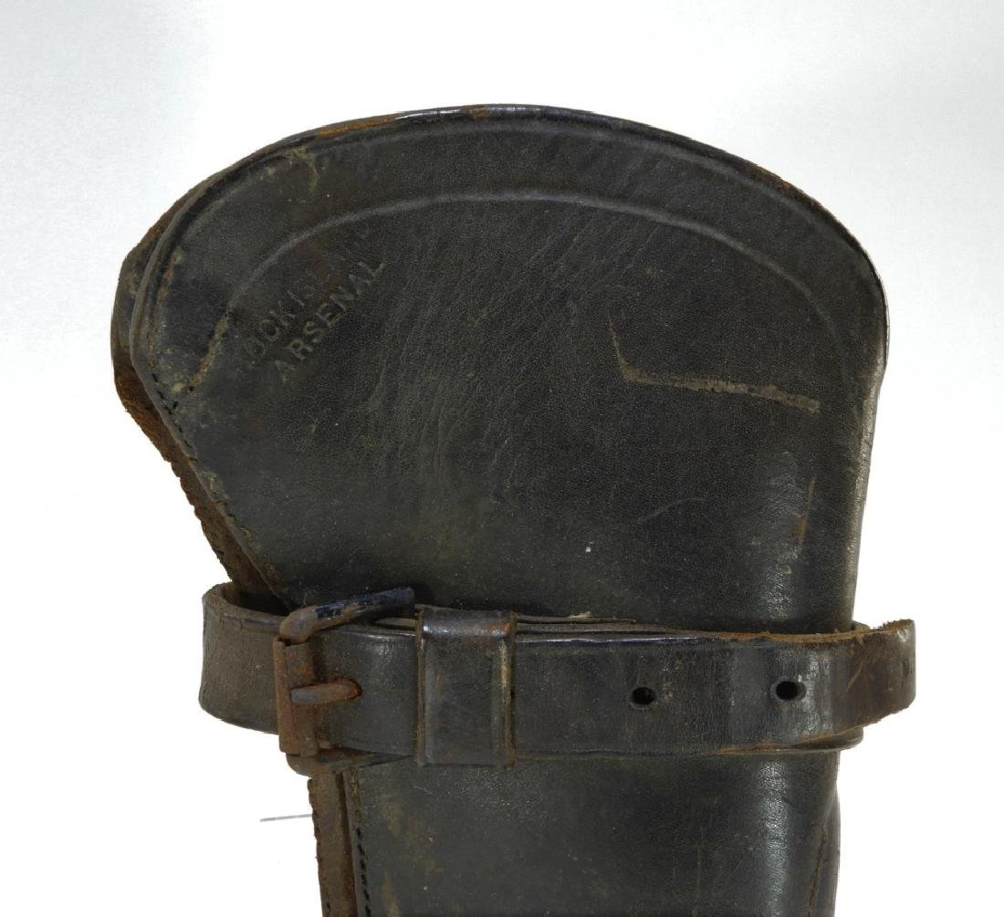 19C. Leather Gun Stock Cover Rock Island Arsenal - 2