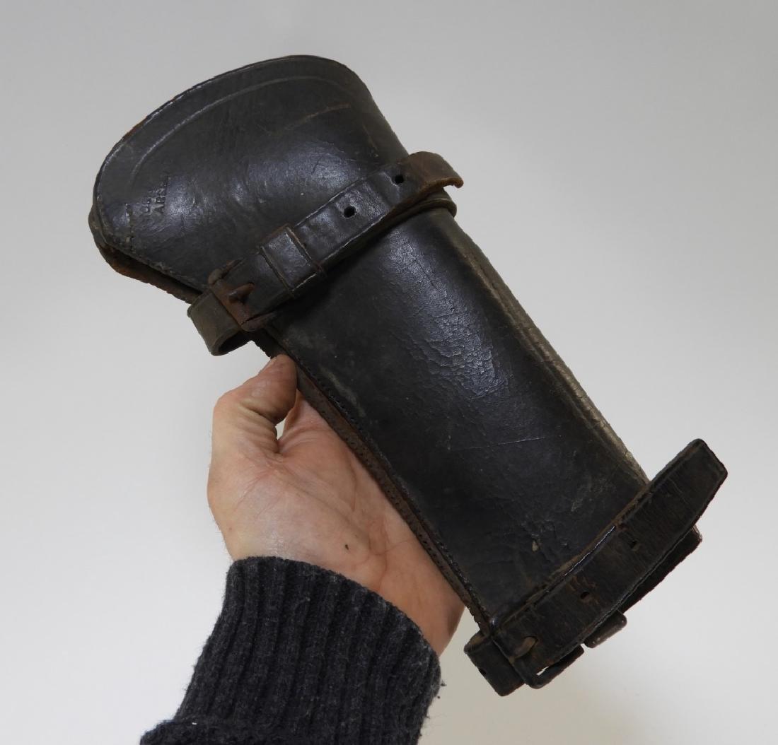 19C. Leather Gun Stock Cover Rock Island Arsenal - 7