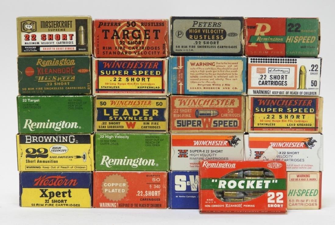 Antique Remington S & W .22 Caliber Short Bullets