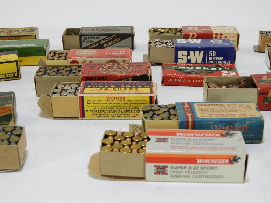 Antique Remington S & W .22 Caliber Short Bullets - 3