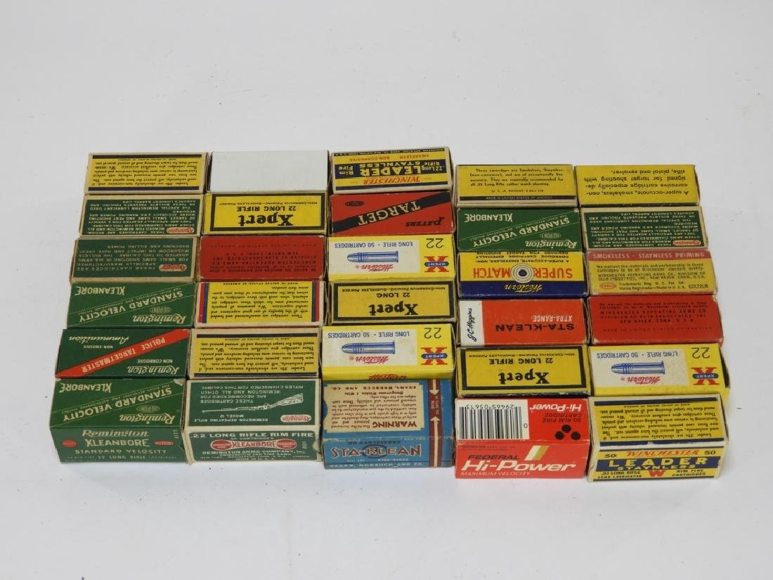 Antique Remington Federal .22 Long Rifle Bullets - 2
