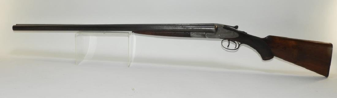 C1914 Hunter Arms Double Barrel Hammerless Shotgun