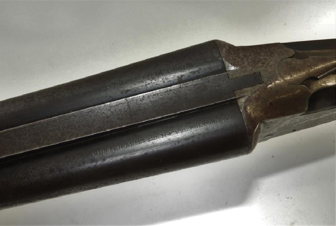 C1914 Hunter Arms Double Barrel Hammerless Shotgun - 3