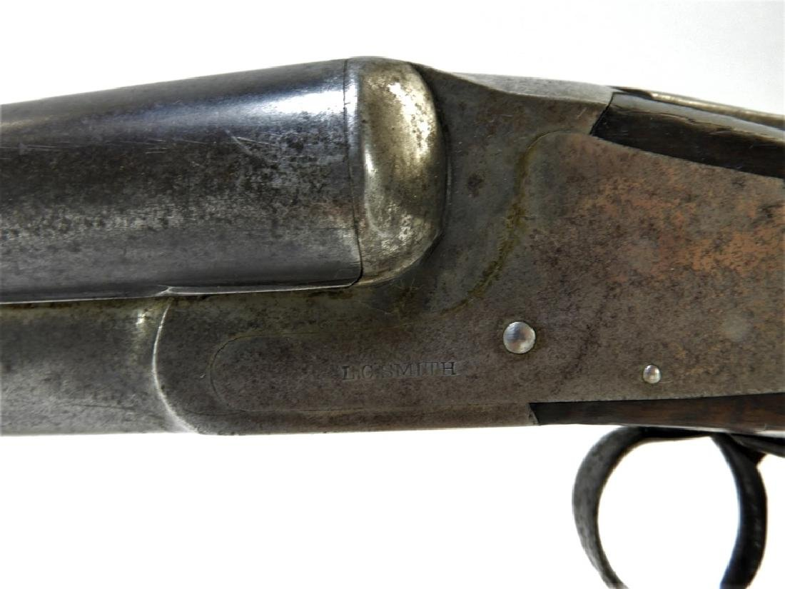 C1914 Hunter Arms Double Barrel Hammerless Shotgun - 4