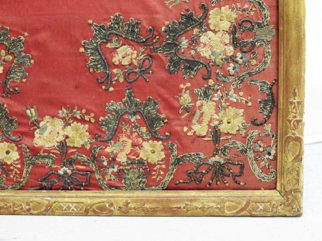 FINE 18C French Louis XVI Gilt Chinese Silk Screen - 10