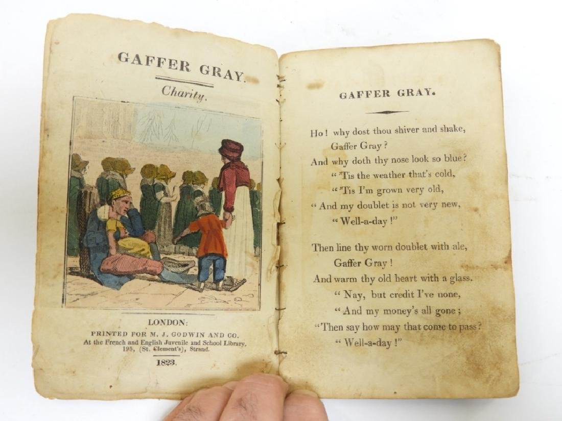C.1823 Gaffer Gray Hand Colored Chapbook