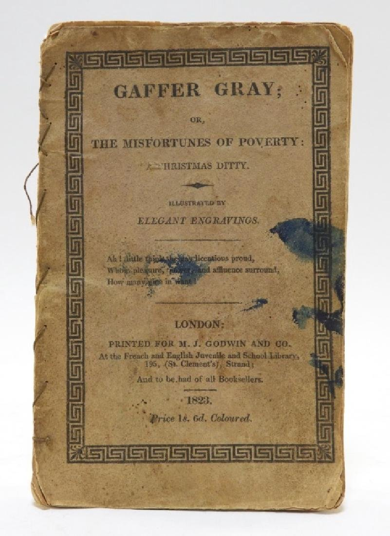 C.1823 Gaffer Gray Hand Colored Chapbook - 2
