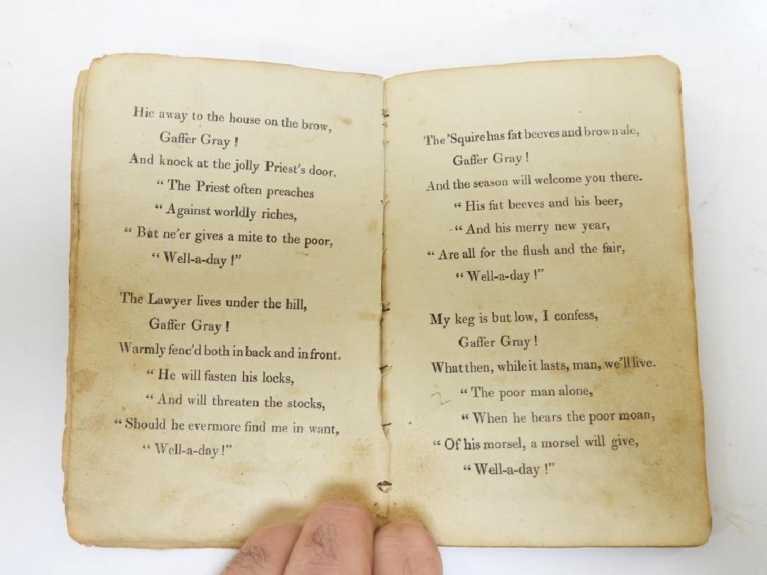 C.1823 Gaffer Gray Hand Colored Chapbook - 3