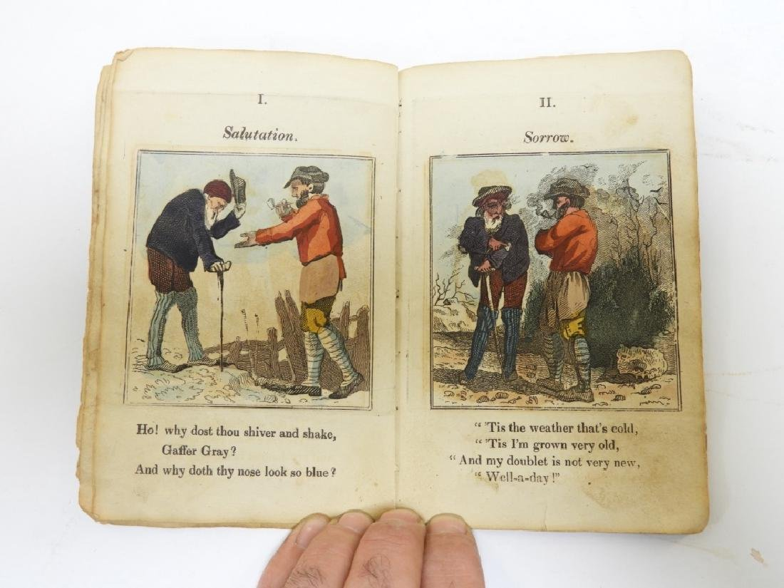 C.1823 Gaffer Gray Hand Colored Chapbook - 4