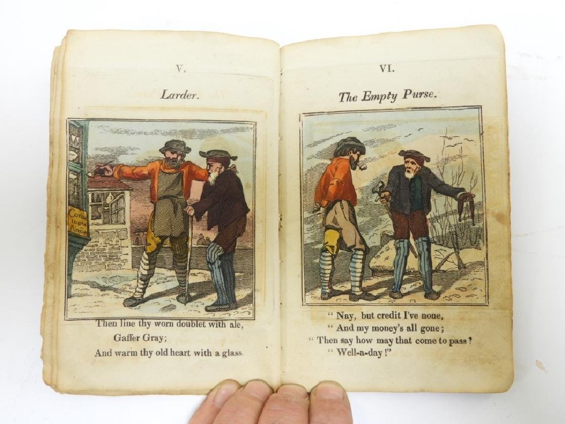 C.1823 Gaffer Gray Hand Colored Chapbook - 5