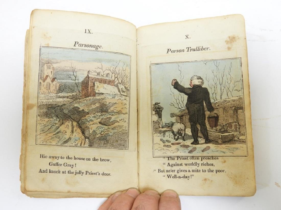 C.1823 Gaffer Gray Hand Colored Chapbook - 6