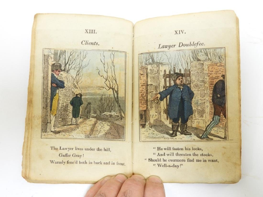 C.1823 Gaffer Gray Hand Colored Chapbook - 7