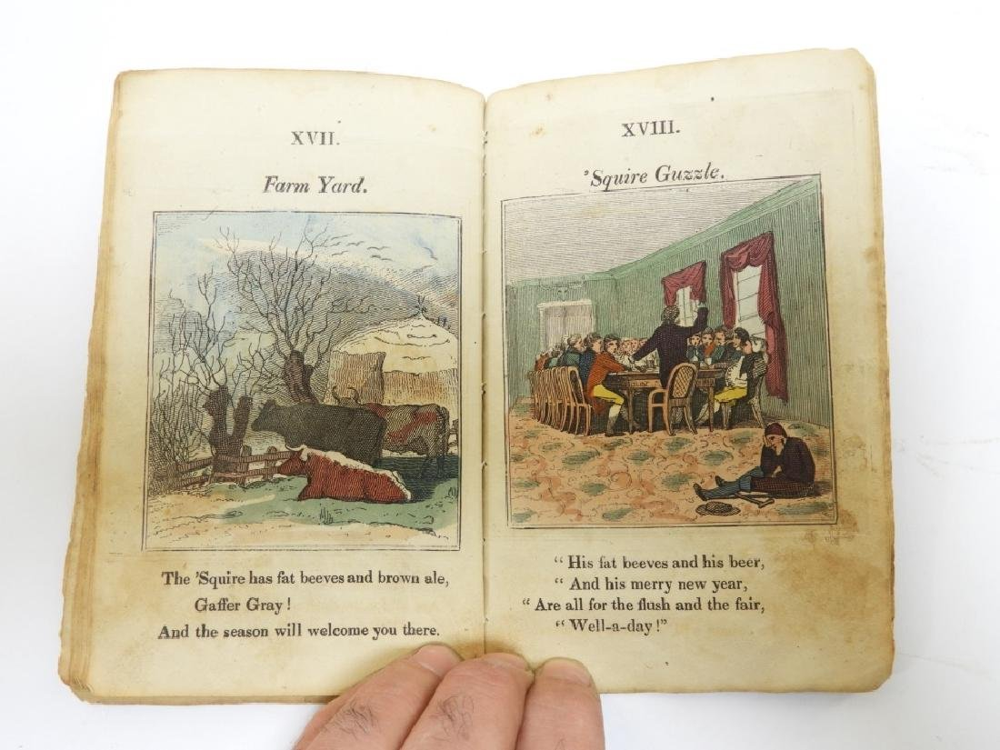C.1823 Gaffer Gray Hand Colored Chapbook - 8