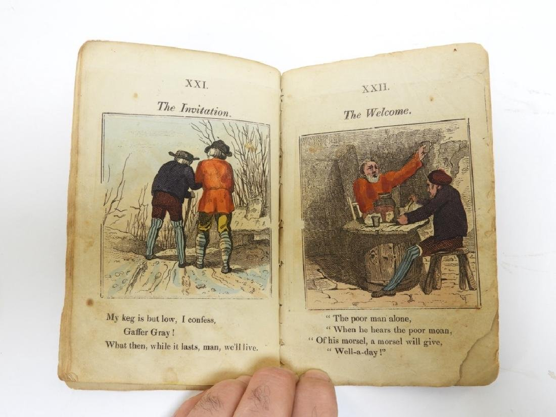 C.1823 Gaffer Gray Hand Colored Chapbook - 9