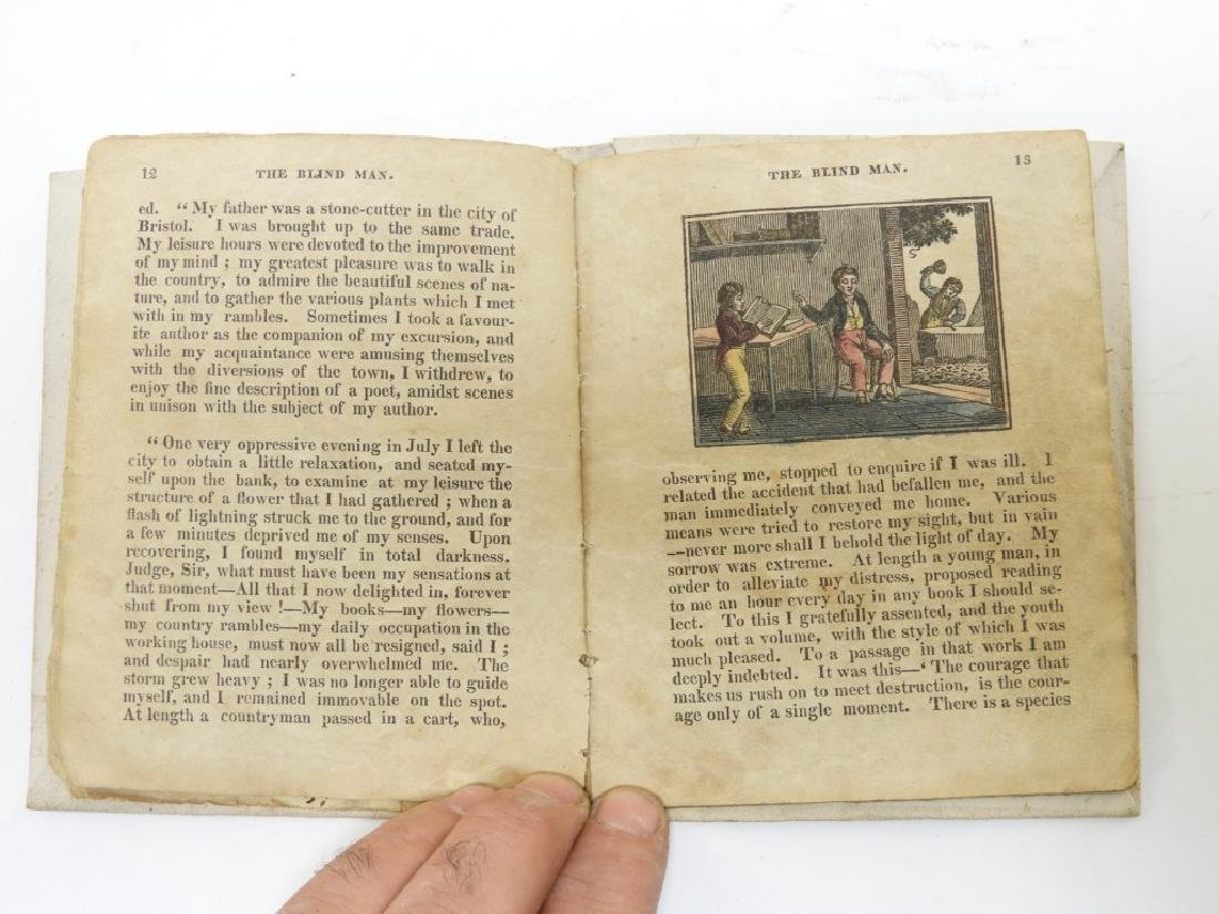 C.1824 American 5 Story Hand Colored Chapbook - 5
