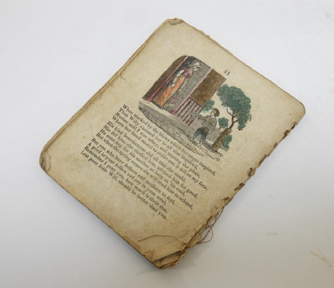 C.1830 Rhode Island Tales Hand Colored Chapbook - 10