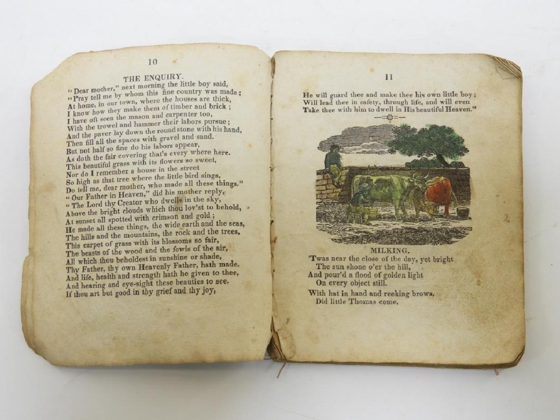 C.1830 Rhode Island Tales Hand Colored Chapbook - 5