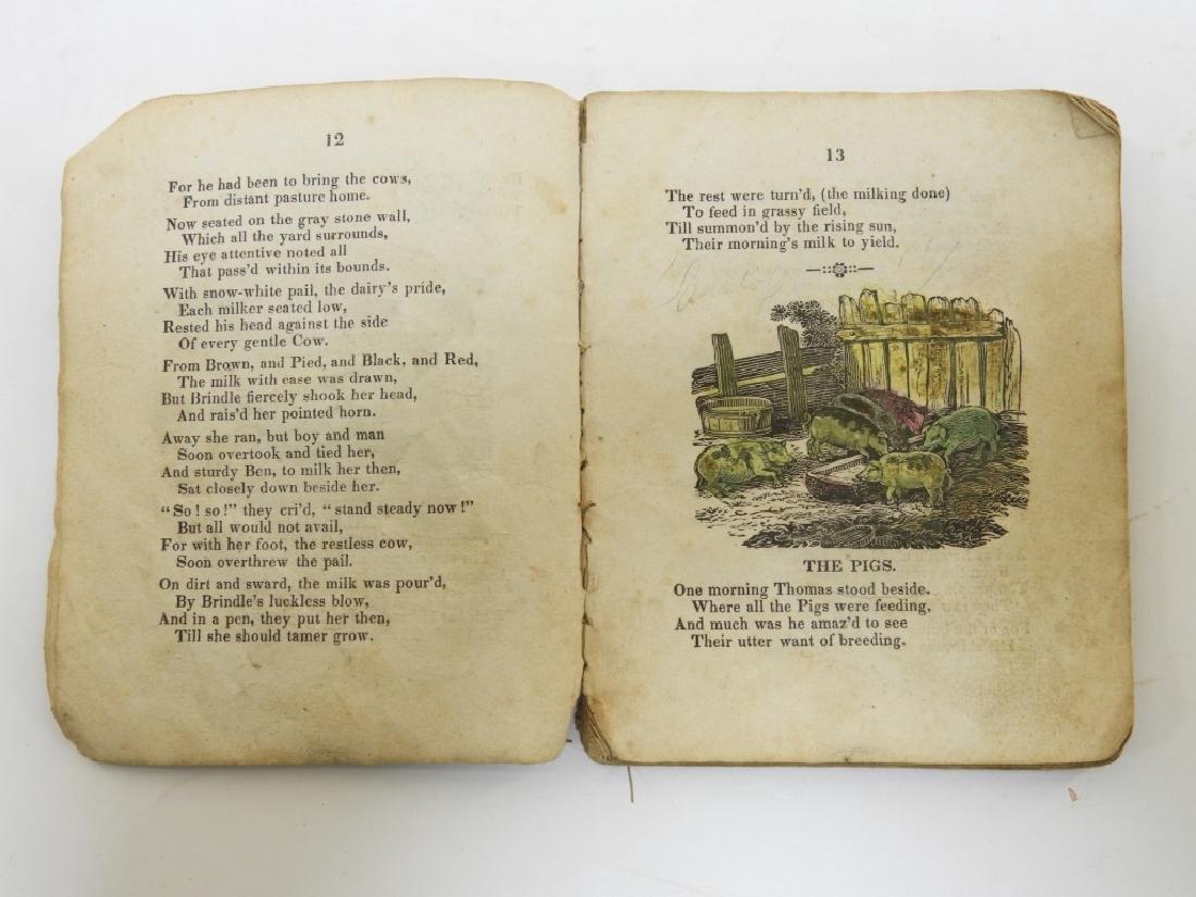 C.1830 Rhode Island Tales Hand Colored Chapbook - 6