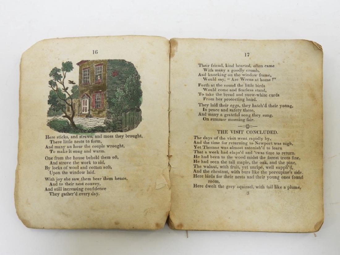 C.1830 Rhode Island Tales Hand Colored Chapbook - 7