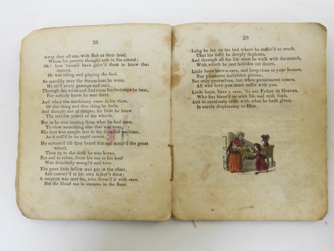C.1830 Rhode Island Tales Hand Colored Chapbook - 8
