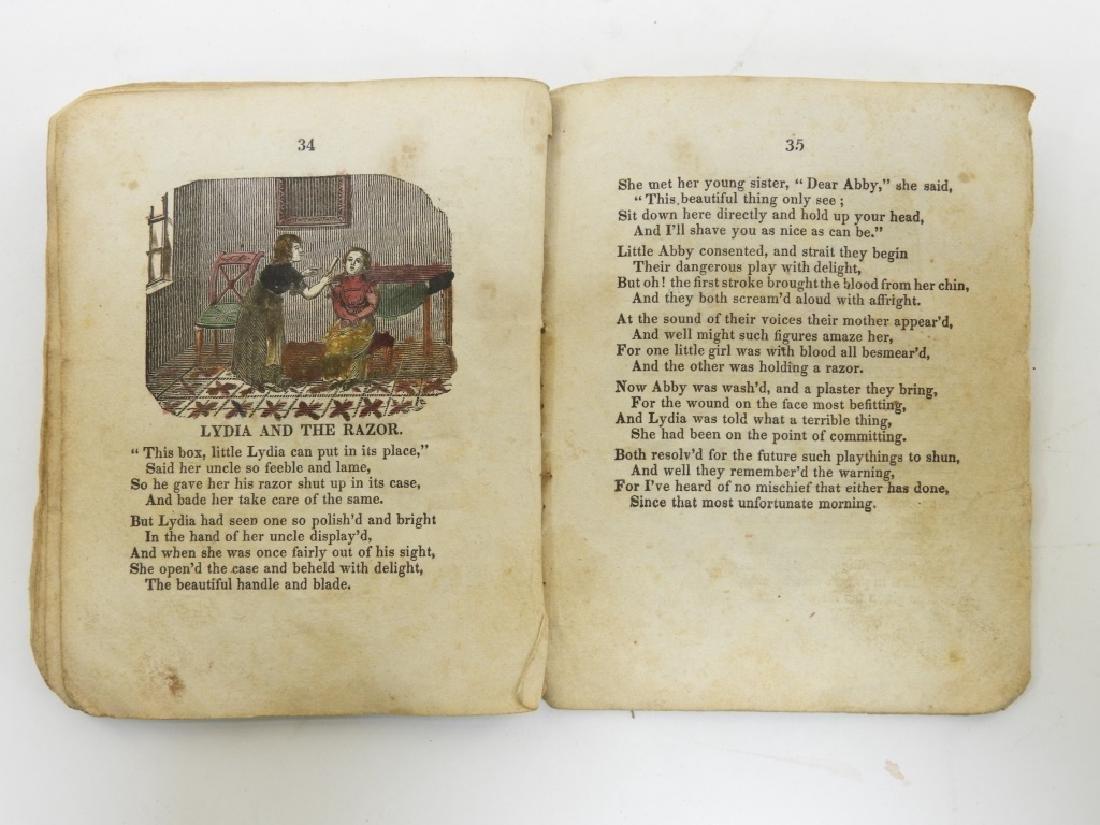 C.1830 Rhode Island Tales Hand Colored Chapbook - 9