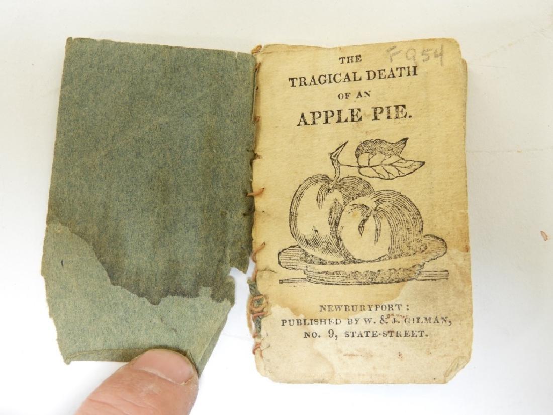 19C. The Tragical Death of an Apple Pie Chapbook