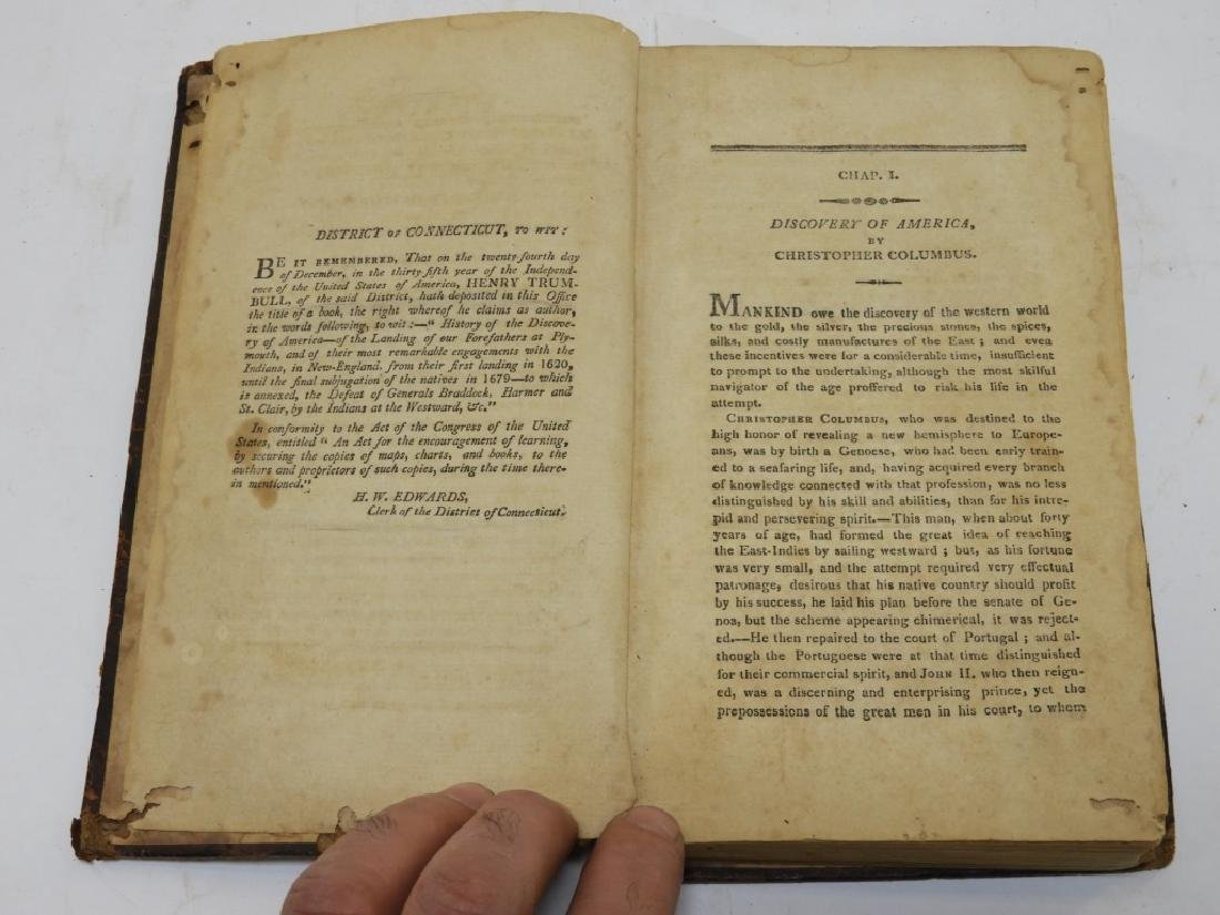 C.1812 Henry Trumbull Discovery of America Book - 3