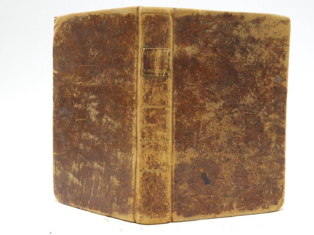 C.1815 John Bunyan Pilgrims Progress Leather Book - 6