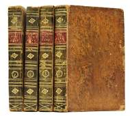 Group C1814 Smollet Gil Blas Leather Bound Books