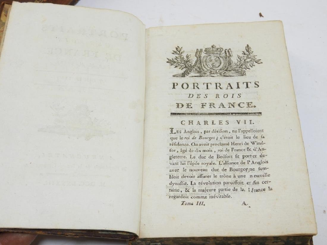 2 18C. French Leather Bound Hollow Book Safes - 4