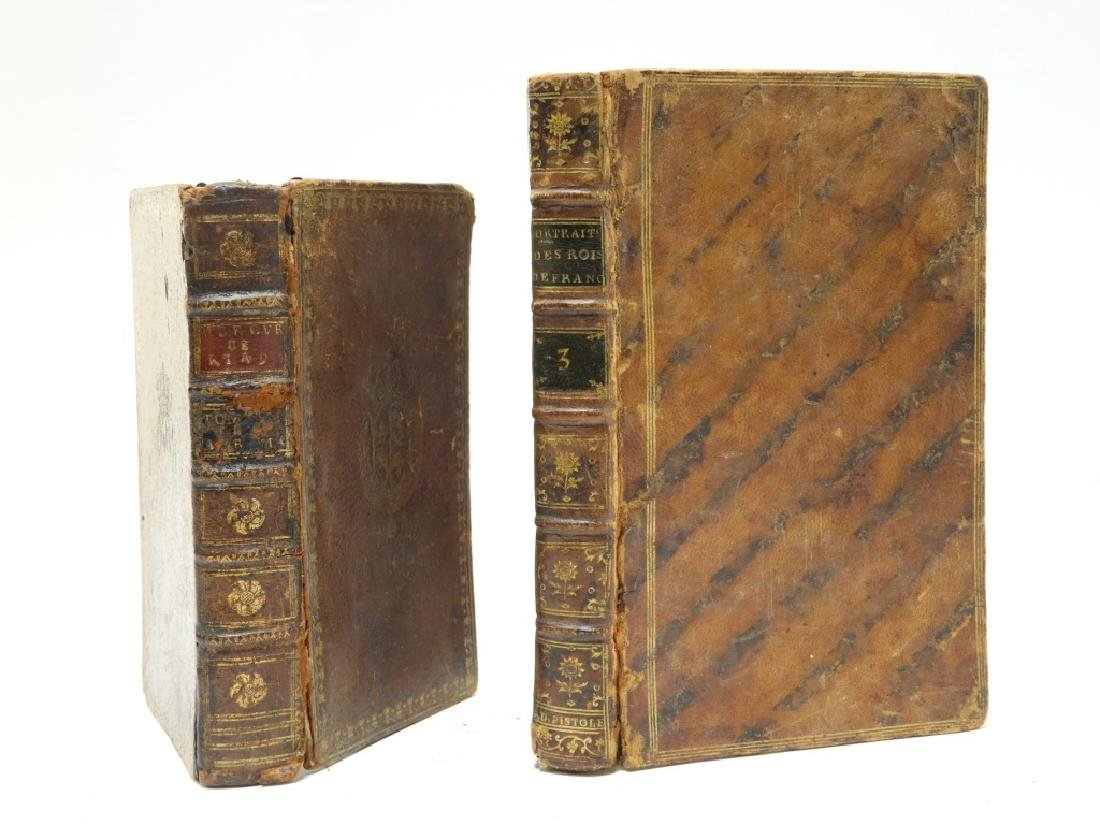 2 18C. French Leather Bound Hollow Book Safes - 5