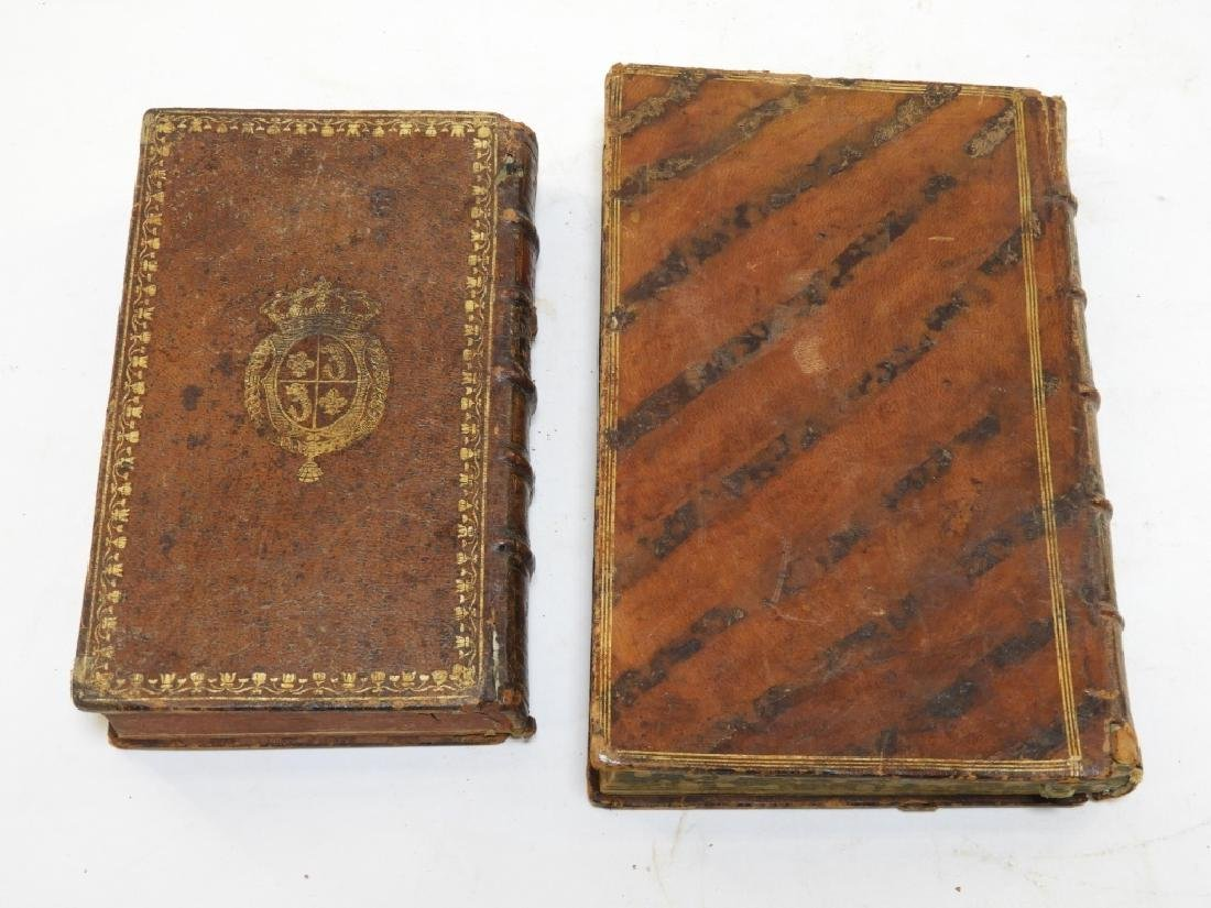 2 18C. French Leather Bound Hollow Book Safes - 6