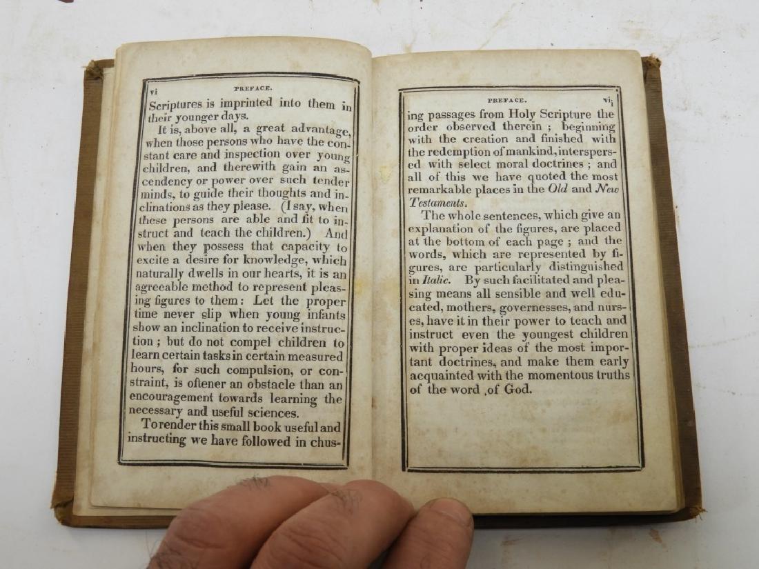 C.1841Antiqurian Engraved Hieroglyphic Bible - 4