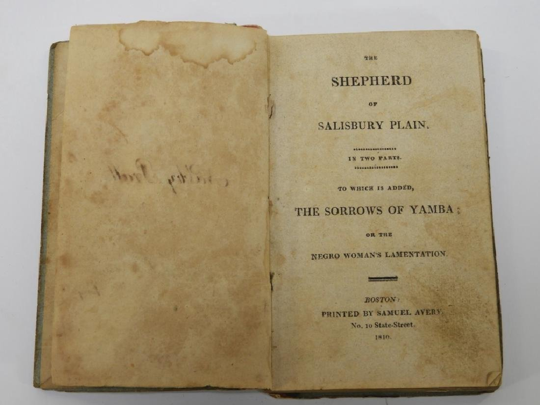 Samuel Avery The Shepard of Salisbury Plain Book