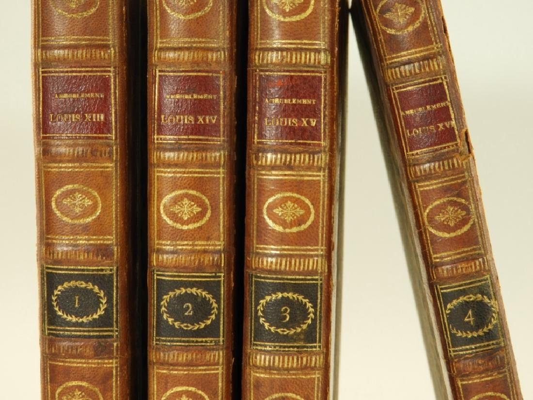 4 Vol. King Louis France French Furniture Books - 2