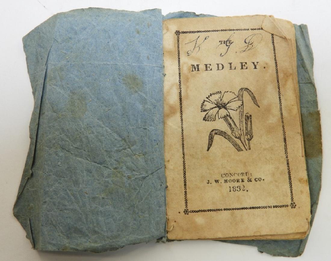 C.1832 The Medley Children's Stories Chapbook