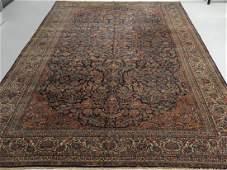 LG Persian Keshan Wool Carpet Rug